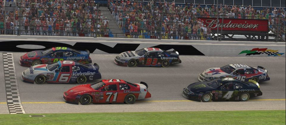 Three Wide Photo Finish Puts Exclamation Mark on Week One of UCORA Throwback Cup Series