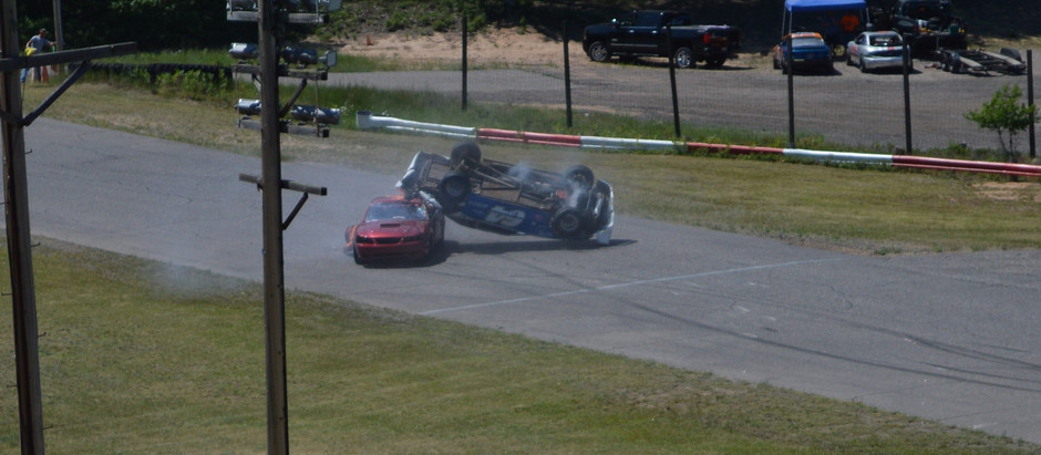Photo Finishes and Flips Provide Plenty of Excitement at Sands Speedway