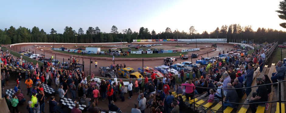 Fans and Drivers both Winners at Eagle River Speedway Kids' Night