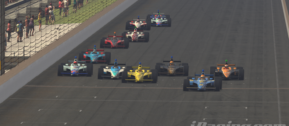 UCORA IndyCar Throwback Series Puts on Dazzling Show at Indianapolis