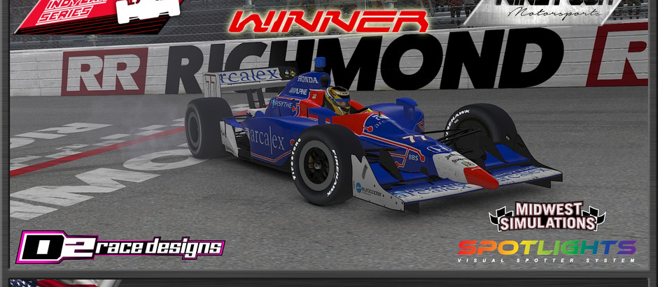 UCORA IndyCar Throwback Series Reaches Halfway Point of Season at Richmond Raceway