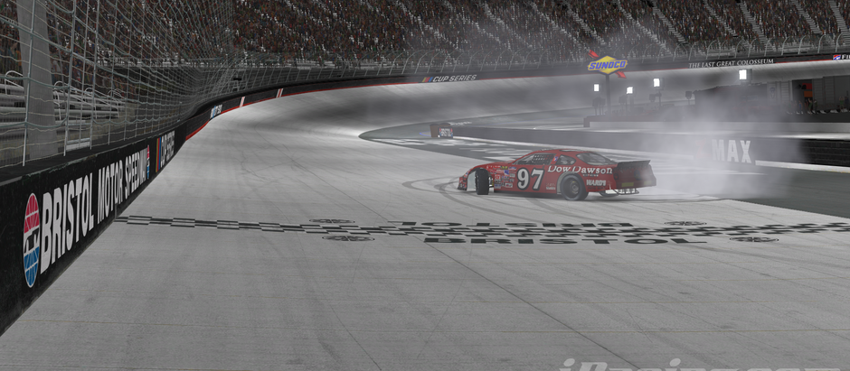906 SIM League Sees First Repeat Winner of Spring Series at Bristol Motor Speedway