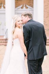 modern luxury Memphis, tn wedding bride and groom