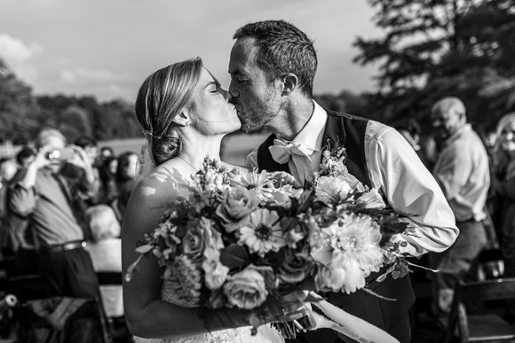 Nature-Inspired Lakeside Wedding - Memphis, TN