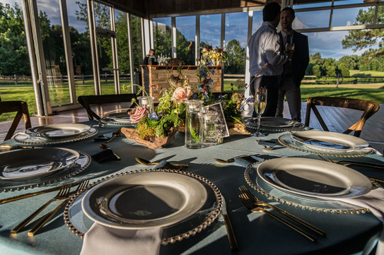 Nature-Inspired Golf Club Rehearsal Dinner - Memphis, TN