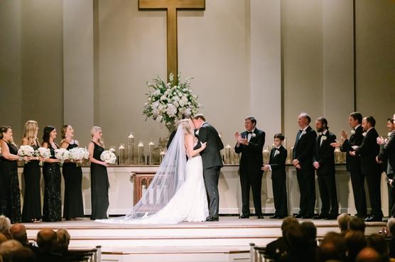 Modern, Elegant Winter Romance Wedding - Memphis, TN