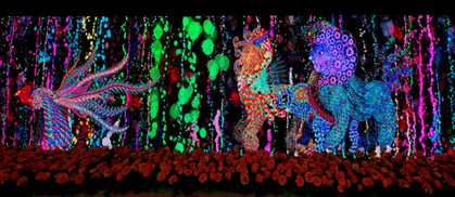 Timeless-The Legend OF Light #홍콩 타임즈스퀘어 #HongKong Times Square  #진시영 #newmediaartist #허동혁 #composer #오석빈 #soundinteractive