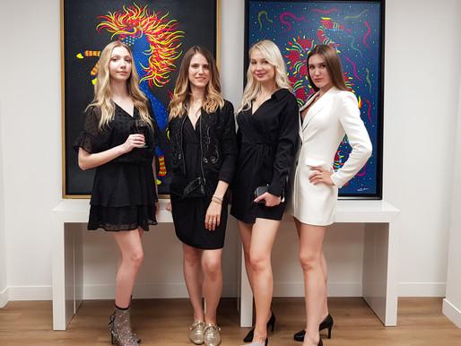 """""""WEEKEND VERNISSAGE"""", nouvelle exposition au Cosy Meeting Center, Paris Champs-Élysées"""