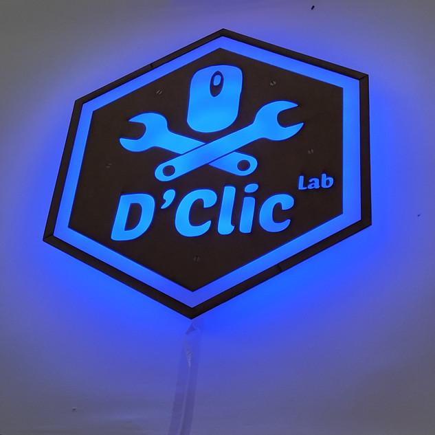 Enseigne DClicLab