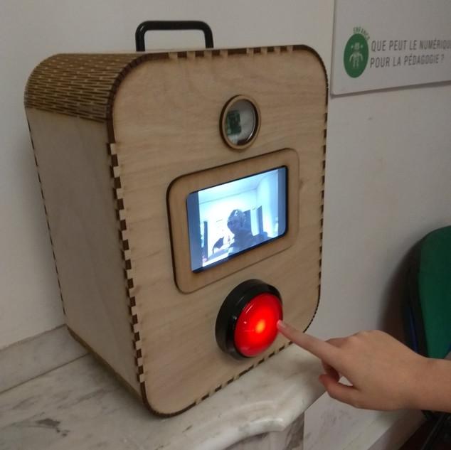 Photo/vidéomaton portatif