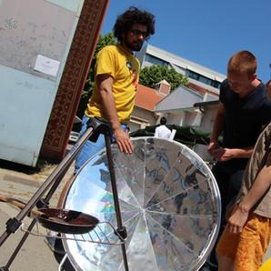 Parabolle solaire
