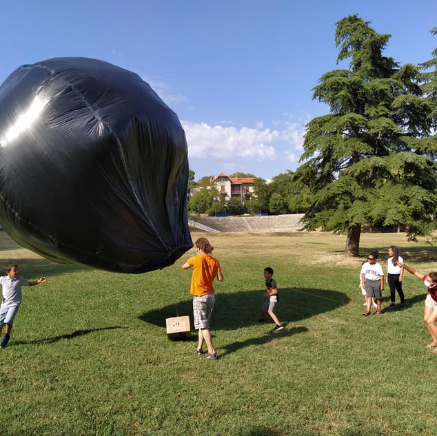 Ballon solaire