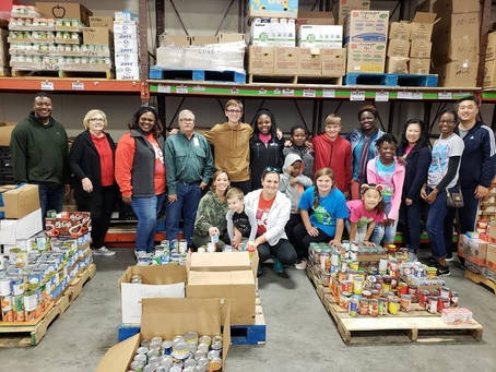 Katy Teen Inspires Service Through Ambitious Canned Food Drive