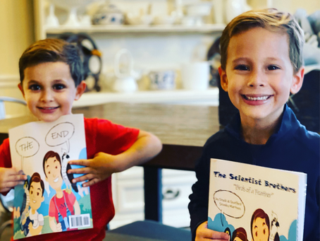 Two Young Katy Brothers Publish Science Book