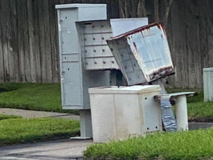Katy Residents Report Community Mailboxes Damaged for Months