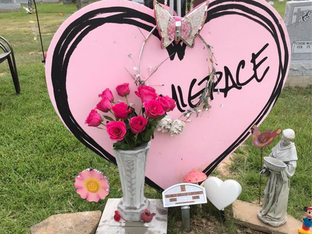 Katy Mom Finds Daughter's Gravesite Items in Dumpster at Magnolia Cemetery