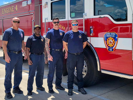 Katy First Responders Head to Louisiana; How You Can Help