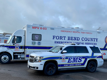 Fort Bend County's One-of-a-Kind Medical Bus Supports Community, Neighbors in Need
