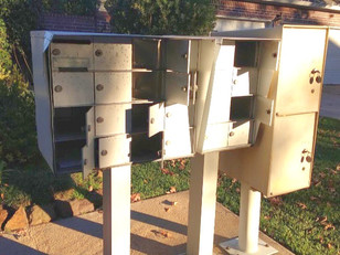 Katy Community Mailboxes Vandalized, Broken Into