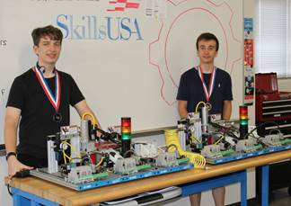 Katy ISD Miller Career and Technology Students Win Mechatronics National Championships