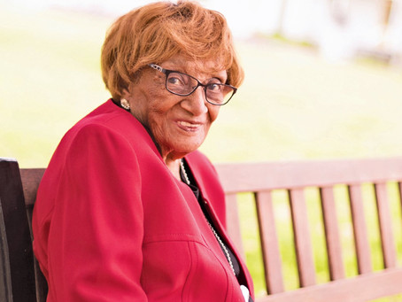 Katy Mourns Loss of Oldest Resident, Redell Patterson Scott, 109