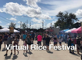 Katy Rice Festival Goes Virtual, Hosts City-Wide Scavenger Hunt