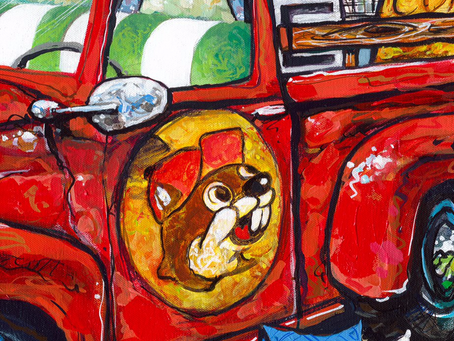Katy Artist Partners with Buc-ees and Junk Gypsy in 'Road Trip' Series