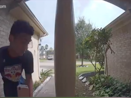Brazen Thieves Steal from Katy Cars, Yards, and Porches Despite Visible Cameras