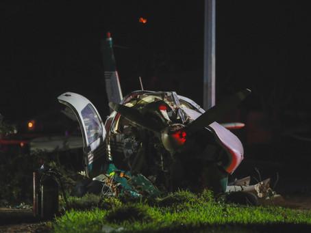Two Survive Plane Crash in Katy-Area Neighborhood