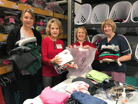 Katy Families Give Back - Through Donations and Volunteering