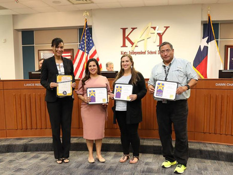 Katy ISD Recognized Nationally for SpeakUp and Smart Restart Campaigns