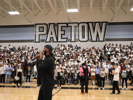 Rockets Chris Paul Makes Surprise Visit to Paetow High School