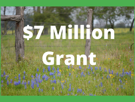 Katy Prairie Conservancy Awarded $7 Million Grant