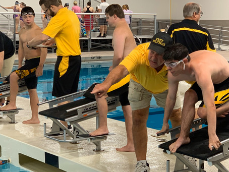 Katy's Special Olympics Swim Team Dives Back to Practice