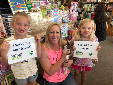 Katy Kids Invited to Read to Cats, Save Lives this Saturday