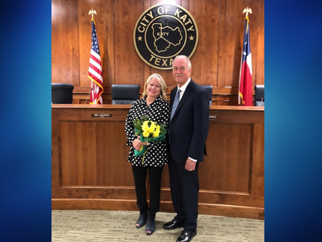 Katy Mayor Bill Hastings Starts Term Catching Up and Setting Plans