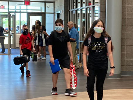 Katy ISD Returns to School; Newest Junior High Welcomes Students