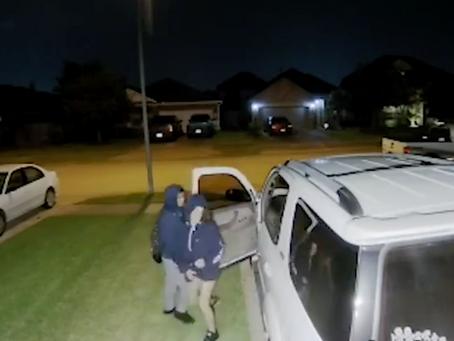 Three Suspects Wanted in Katy Vehicle Burglary Spree