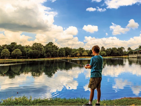 7 Best Water Holes to Fish in Katy