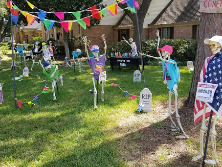 2020 Katy Halloween Drive-by Home Tour