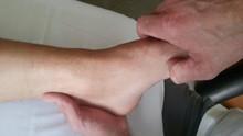 Salzburger Füße verwöhnt Robert Kummer in seiner Praxis