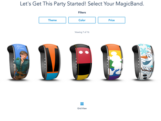 UPDATED: New MagicBand Options Coming for Walt Disney World Hotel Guests