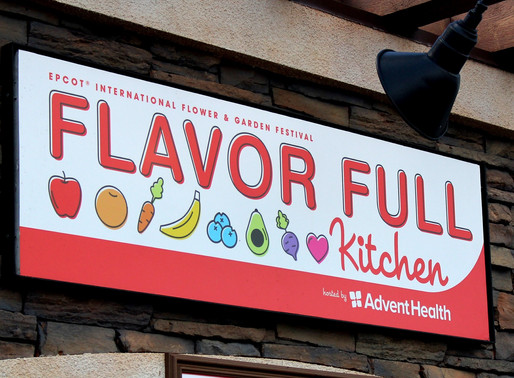 FOOD REVIEW: Flavor Full Kitchen at Epcot Flower & Garden Festival
