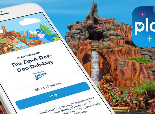Splash Mountain & World Showcase Games Added to Play Disney Parks