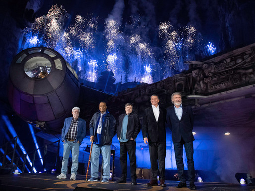 Star Wars: Galaxy's Edge at Disneyland Park Dedication Ceremony