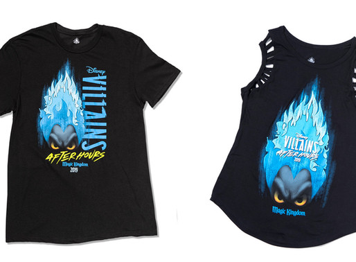 Special Edition Merchandise for Disney Villains After Hours Event