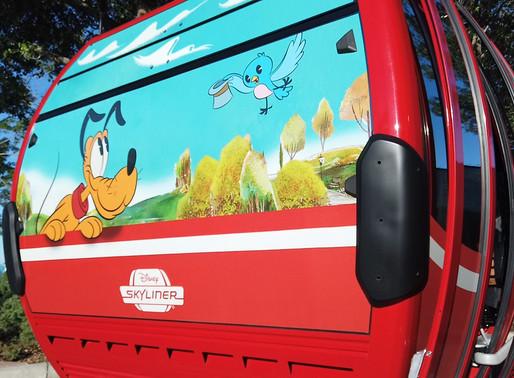 Inside Look at Cabins on The Disney Skyliner Transportation System