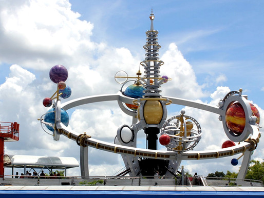 Astro Orbiter Closed at Magic Kingdom Until August 14th