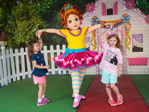 Fancy Nancy Now Meeting Guests at Disney's Hollywood Studios