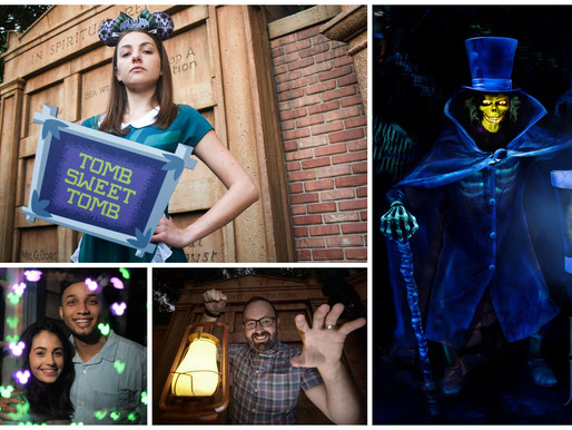 One-Day-Only Photo Spots and Specialty Food Coming to the Haunted Mansion April 13th